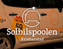 Solbilspoolen Logo Design