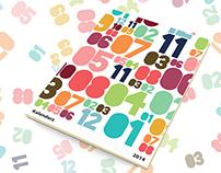 Big Numbers Calendar