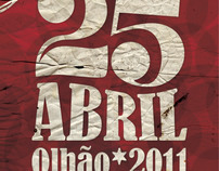 25 de Abril do Munícipio de Olhão