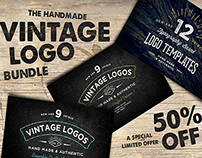 50% Off -Vintage Logo Bundle Limited Offer