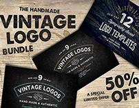 50% Off -Vintage Logo Bundle Limited Offer