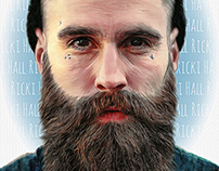 Ricki Hall Portrait
