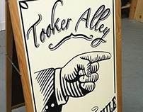 Sign Painting - Tooker Alley (Brooklyn, NY)
