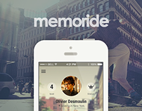 memoride - connecting skateboard
