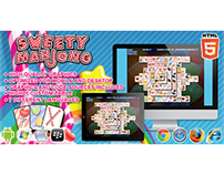 HTML5 game: Sweety Mahjong (Mahjong Game)