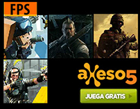 Video games banners ads