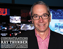 Congratulations Ray Thurber ad