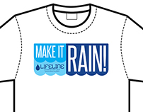 Lifeline 'Make It Rain' shirt