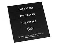 Tim Peters Business Card
