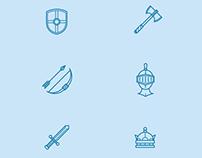 Medieval Icon Set