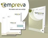 Logo en huisstijl Empreva