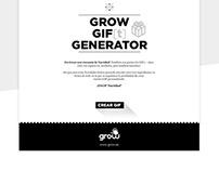 Grow GIF[t] Generator