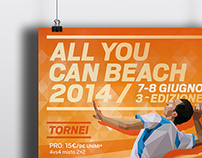All You Can Beach 2014 // advertising