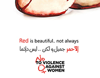 woman abuse - posters