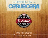 Pub / El Solar - Identidad visual