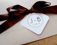 Convite de Casamento Bruna e Jackson