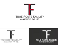 Logo designed for True Roots Facility Management