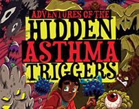 Adventures of the Hidden Asthma Triggers (Kids Book)