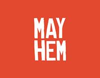 MAYHEM Digital Marketing Logo and Color Palette