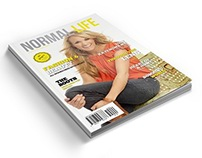 Normal Life Magazine Template - 40 Pages