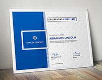 3 Design Multipurpose Certificate GD009