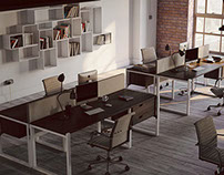 Yorkshire converted office loft