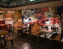 Wall Illustration- Soho Bar & Grill