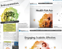 HealthMedia Website and Collateral
