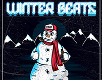 OIM - Winter Beats Party Flyer