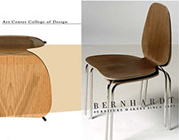 Stacking Chair for Bernhardt