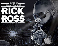 Rick Ross Mixtape Cover Design