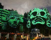 Dioses del Maíz - Mexican 3D gods against transgenics