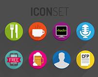 Droidcon MAD | Icon set