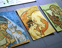 Ancient Pets - ACEO Series