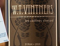 W.T. Vintners wine labels