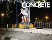 Concrete Skateboarding Magazine #124 / 2013
