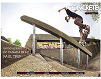 Concrete Skateboarding Magazine #125 / 2013