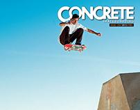 Concrete Skateboarding Magazine #126 / 2013