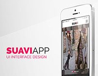 SUAVI Daily Fashion Showcase iPhone App (concept)