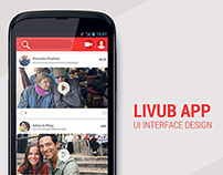 LIVUB Video Sharing Android App (concept)