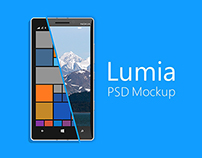 Lumia 930 Mockup
