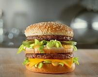 Mc Donalds - 100% pure & Fresh