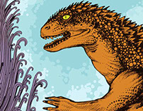 Godzilla Doodle