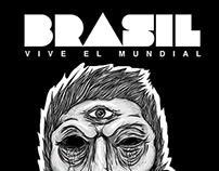 Brasil vive el mundial