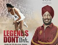 Legends Dont Die (Download Free PSD)