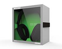 Incase Sonic Headphone Package Redesign