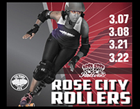 Rose City Rollers March Bouts