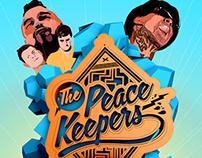 The Peacekeepers, Tiki Poster + logo kit