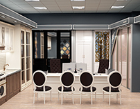 Дизайн-проект салона мебели в Краснодаре