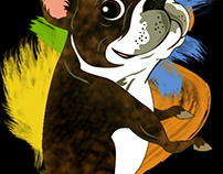LALO The Boston Terrier